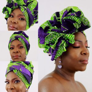 Bonnet Turban Queen L'Aïyana