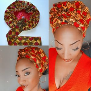 Bonnet Turban « Passion »